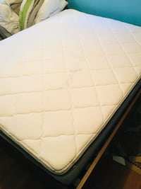 Corsicana Queen size pillow top mattress