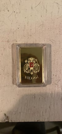 One troy  ounce 30 g Russian gold