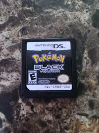 Nintendo DS Pokemon Black Version Game Card Only