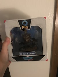 Groovy and Rocket guardians of the galaxy figure Ankeny, 50021