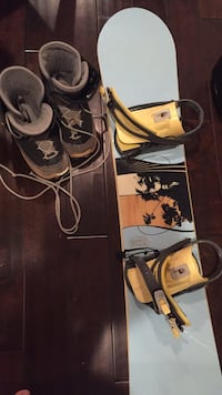 Ride Grace Snowboard, bindings and boots Washington, 20002