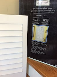 """Shutters - Faux Wood Plantation Shutters. 2 1/4"""" (see pics) New Kitchener, N2H 5P4"""