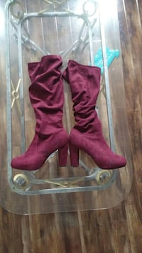 Torrid Suede knee high boots London, Ontario, N5W 4R9