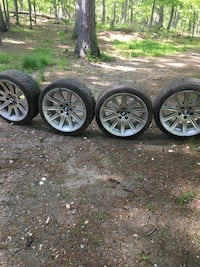 4 Bmw rims and tires 9jx19H2