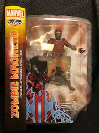 Marvel Select Zombie Magneto Action Figure