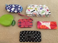 Assortment of wallets and cosmetic bags  Woodbridge, 22193