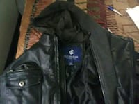 Extra large Rocawear leather jacket with hoodie Indianapolis, 46237