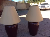 Two nice  lamps good condition. Scottsdale, 85259