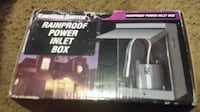 30 amp rain proof inlet box,New Chantilly