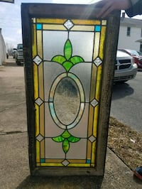1890-1910 Stained Glass Window Pittston, 18640