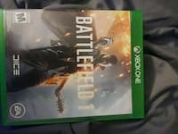 Xbox One Battlefield 1 game case Middletown, 07748