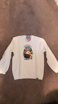 Chicken Little White Sweatshirt