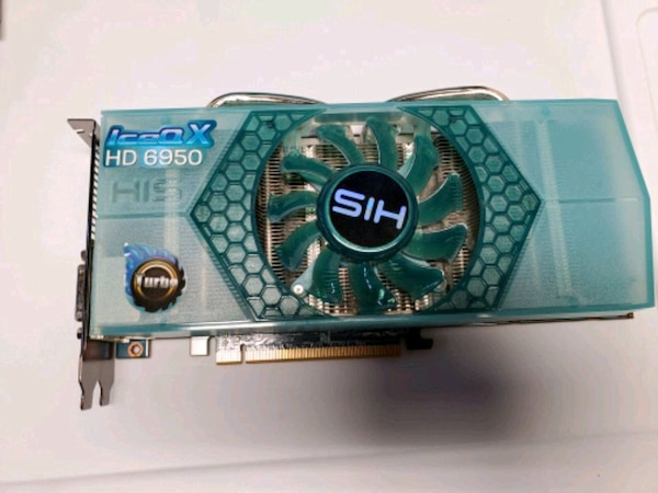 GAMINNG VIDEO CARD HIS HD 6950