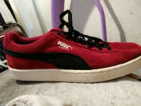 Red suede puma shoes Staten Island