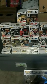 Pop ! vinyl figure box lot Sutton, 01590