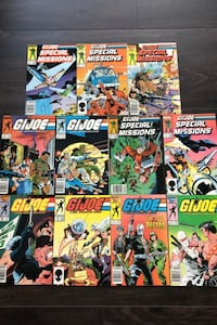 11 G.I.Joe comics Richmond Hill, L4S