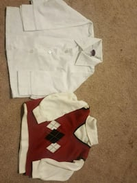 2 Long sleeve shirt and vest in size 18 month's Murrieta, 92563