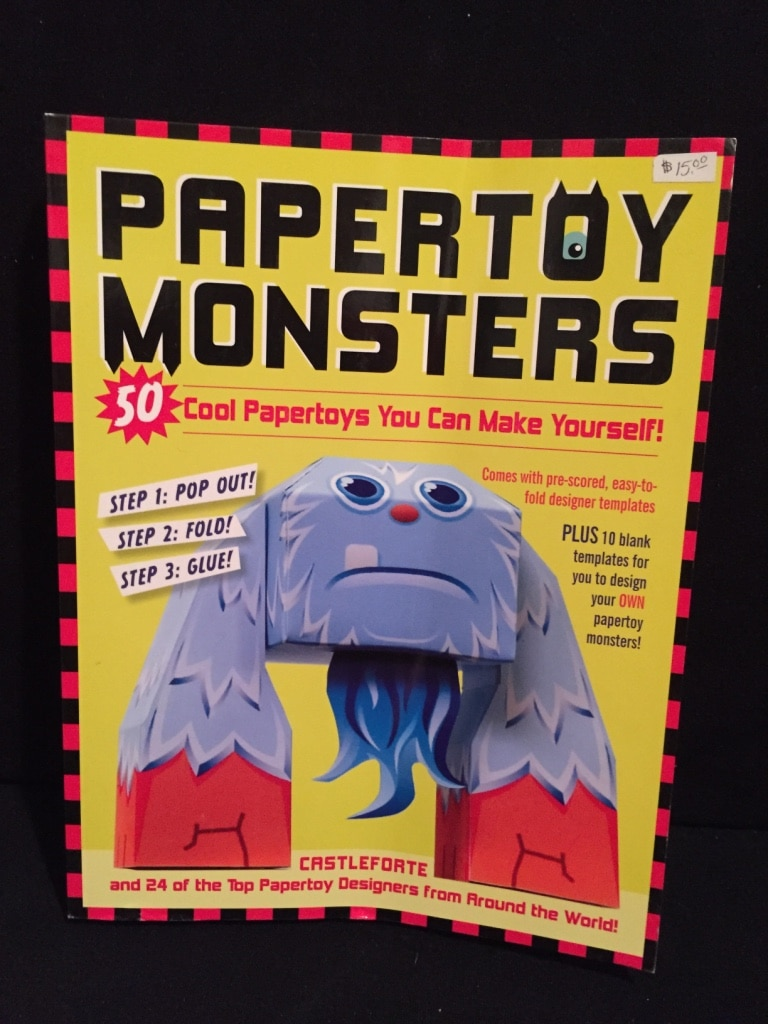 Papertoy Monsters: 50 Cool Papertoys You Can Make Yourself! download