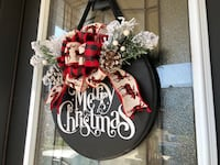 Merry Christmas Holiday Front Door Hanger! | Only 3 left! | Home Decor Springwater