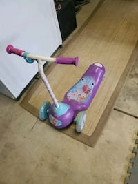 Frozen electric scooter