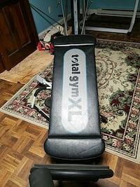 black Total Gym XL bench press 67 mi