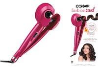 pink and black hair curler Beaumont