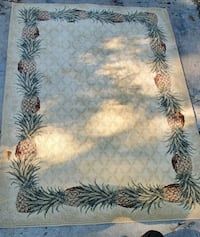 "5x8 ""Pineapples All Around""Rug Summerville, 29483"