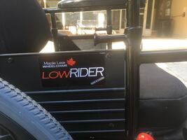 FREE TO SOMEONE IN NEED! Maple leaf low rider tilt wheel chair.
