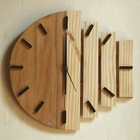 brown wooden wall-mount decor 13331 km