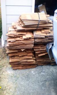 "18"" red cedar roofing blue tag reatail 249.00"