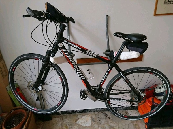 mountain bike torpado t800 crossfire nera e rossa