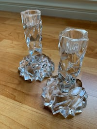 Tiffany & Co crystal candle holder set Los Angeles, 90034