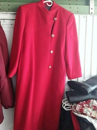 red button-up long-sleeved dress Toronto, M1R 4V5