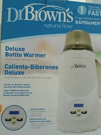 Dr brown deluxe bottle warmer  Mississauga, L5M 5A1