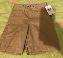 Boys size 4 NEW Nautica khaki shorts