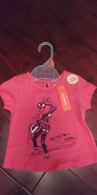 New Short Sleeve Top for 6-12 month Girl