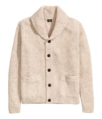 H&M Natural and Gray Cardigans 537 km