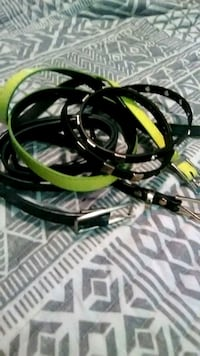 black and green corded headphones Charleston, 25304
