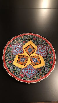 Decorating plate / hand made