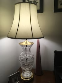 Lamp/Accent lamp/Waterford Chrystal  Toronto, M4W 1N9