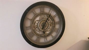 Gorgeous Rustic train clock