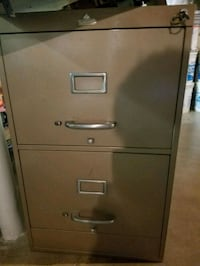 Two drawer filing cabinet legal size