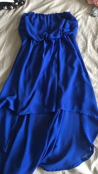 women's blue sleeveless dress Edmonton, T6L 7E1