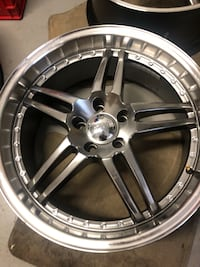 19 inch IKON GT5 rims mint condition Toronto, M1P 3C2