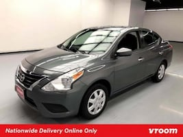 2017 Nissan Versa Sedan Gun Metallic sedan