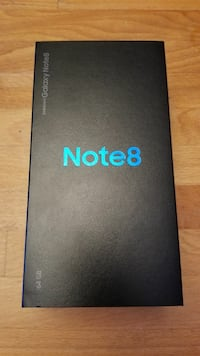 New In Box Unlocked Samsung Note 8