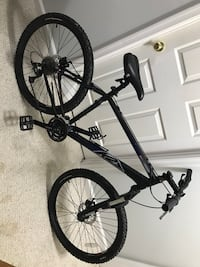 black and white hardtail mountain bike Frederick, 21701