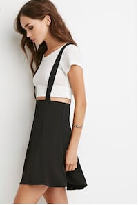 Overall/Suspended strap skirt  2242 mi
