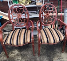 Spider back chairs