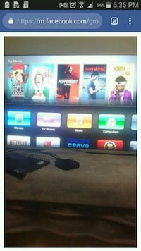32 GB 3rd Gen apple tv box. with remote and hdmi  Guelph, N1L 1N7